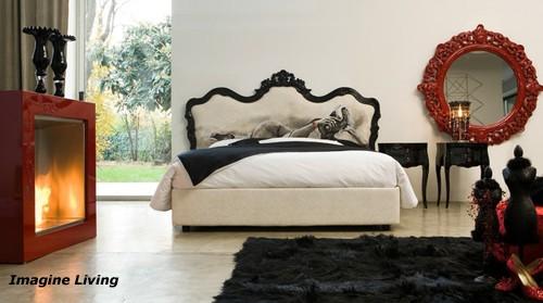 дизайн спальни в стиле необарокко