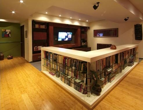 дизайн домашнего кинотеатра в подвале
