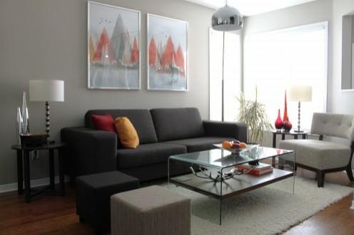 цветовая гамма современной гостиной