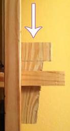 деревянный крепеж мебели
