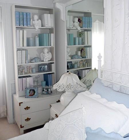 самодельные обложки для книг в интерьере спальни