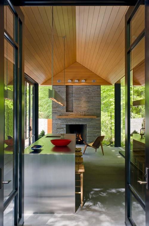 дизайн интерьера садового павильона