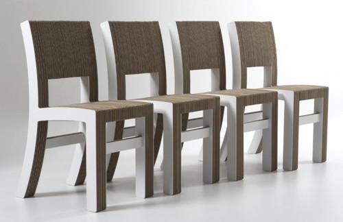 картонные стулья