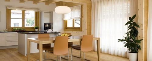 дизайн кухни в тирольском доме