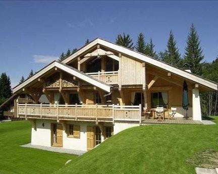 традиционный альпийский дом