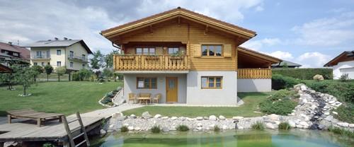 архитектура альпийского коттеджа
