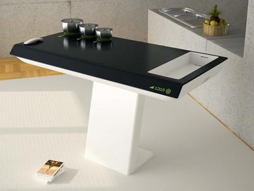 компактный кухонный блок