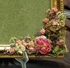 декорирование фоторамки сухими цветами