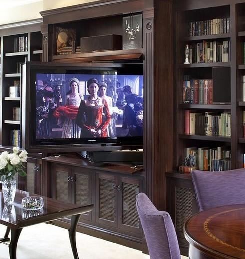 поворотная панель с телевизором