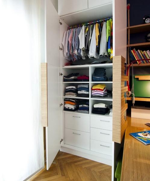 дизайн шкафа в детской