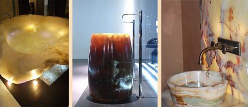 раковины и ванны из оникса