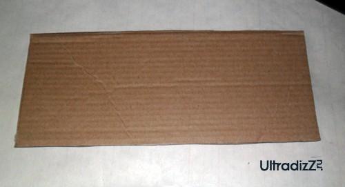картонная заготовка для блока для записей