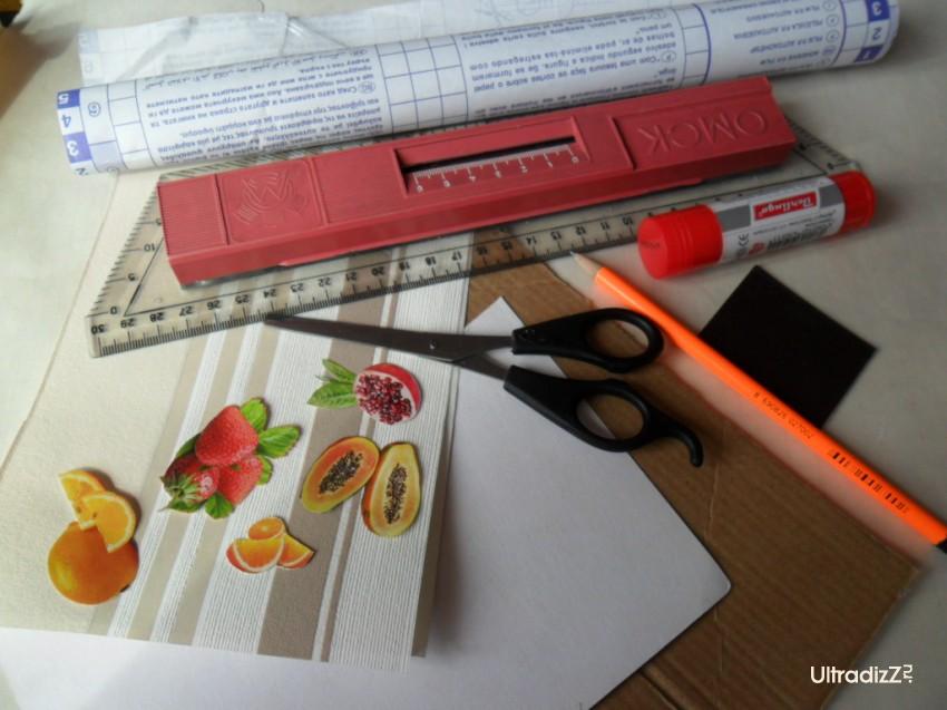 материалы для изготовления блока для записей