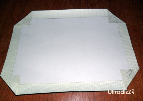 изготовление задней стенки фоторамки