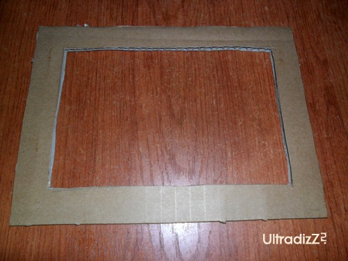 картонная основа фоторамки