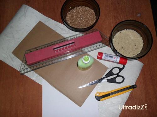 материалы для изготовления фоторамки