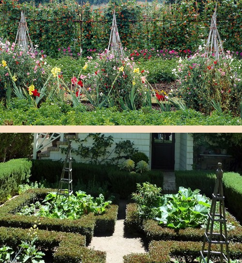 группы садовых обелисков