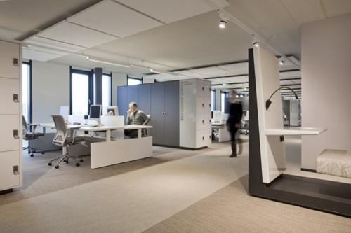 основные и альтернативные рабочие места в современном офисе
