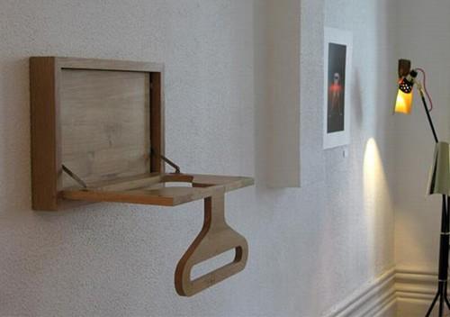деревянная раскладная вешалка