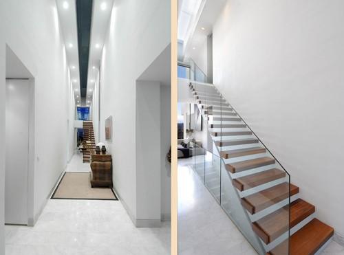 скульптурная лестница в интерьере