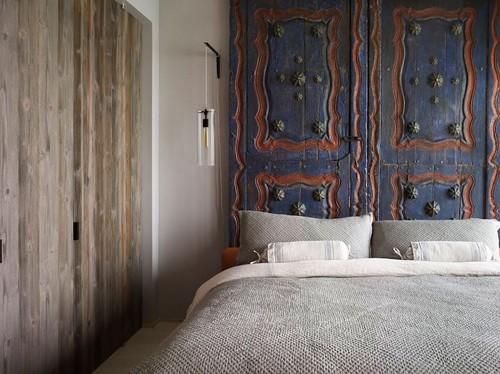 спальня родителей в ретро стиле