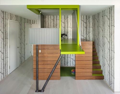 игровой домик в интерьере квартиры