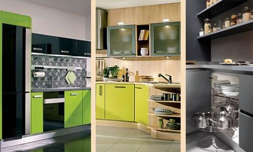 эффектные кухонные фасады