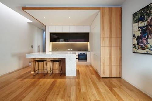дизайн кухонной зоны в доме