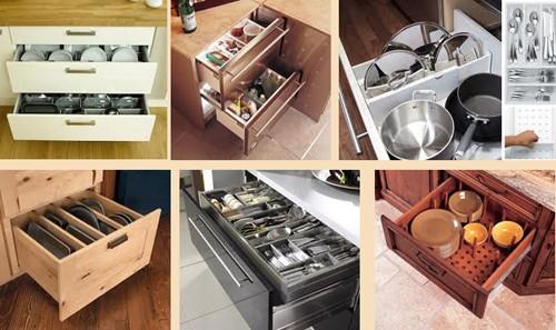 разделители кухонных ящиков