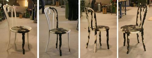 процесс изготовления оригинальной металлической мебели