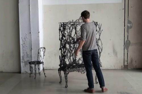 традиционная функциональность необычной мебели