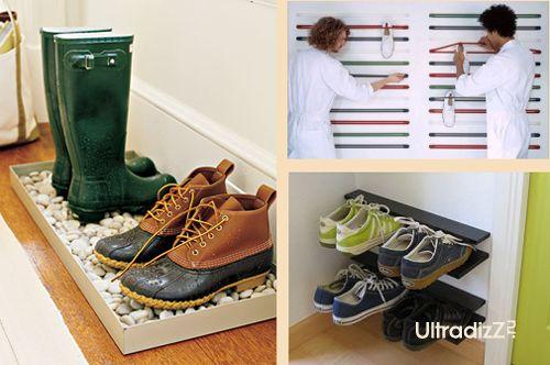 идеи хранения обуви в прихожей