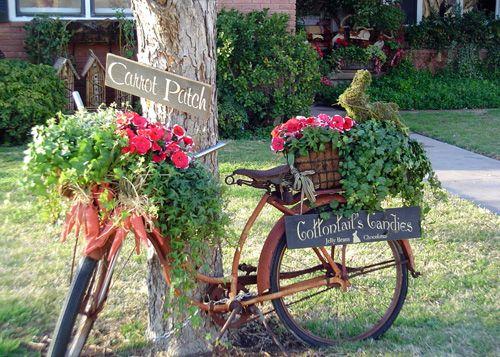 что сделать из старого велосипеда своими руками