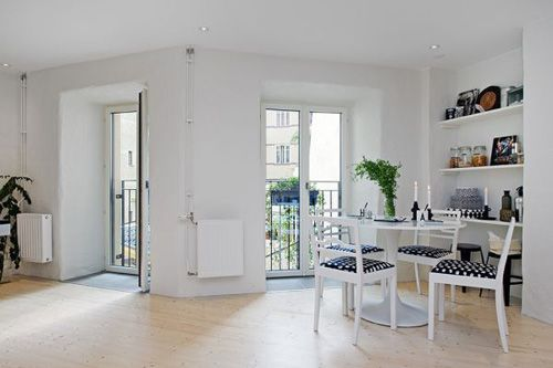 балконные двери в однокомнатной квартире