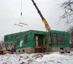 строительство дома из блок-контейнеров