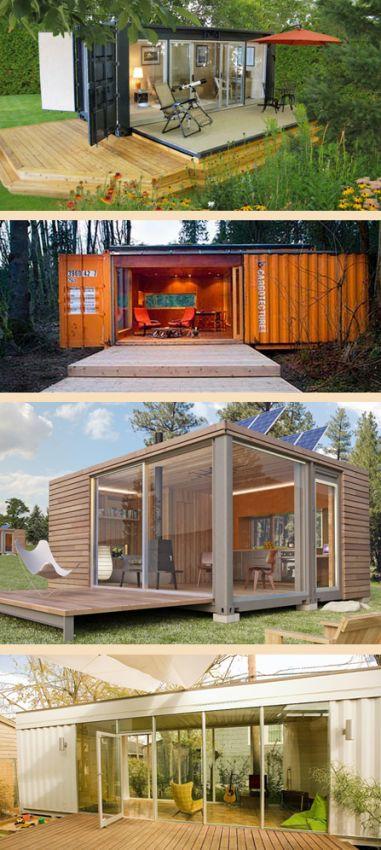 дачный дом из блок-контейнера