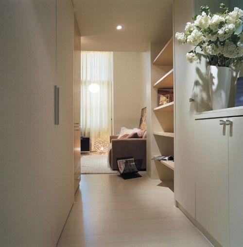 открытая планировка маленькой квартиры
