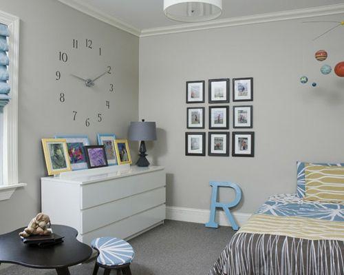 объемная графика на полу в детской комнате