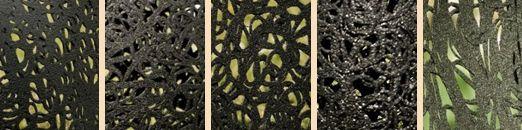 ажурный рисунок мебели из базальтового волокна