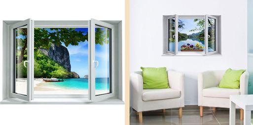 3D-стикеры с иллюзией окна