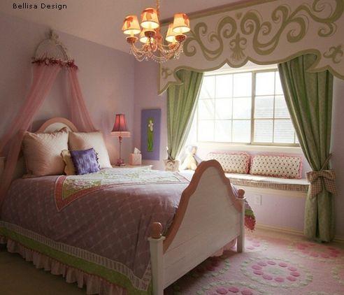 оригинальный детский полог над кроватью