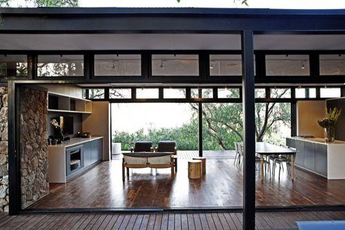 дизайн общей зоны каркасного дома