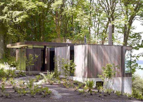 строительство дачного дома на склоне