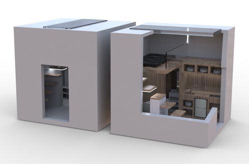 улучшенный вариант студии площадью 9 м2