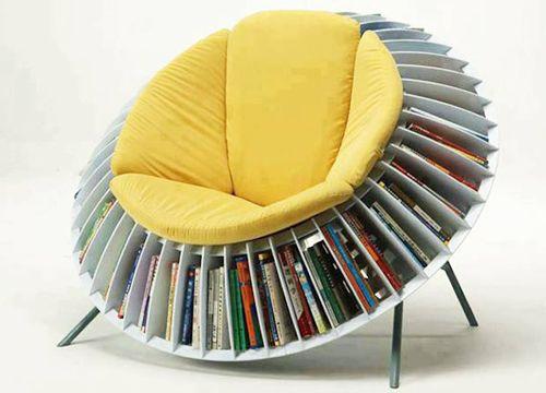 дизайнерская мягкая мебель: кресло-подсолнух