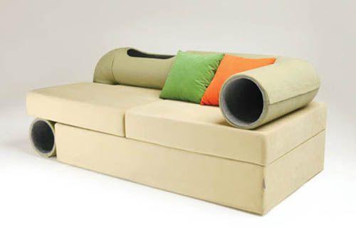 диван для людей и кошек