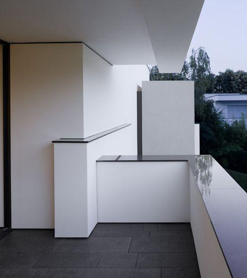 дизайн открытого балкона в частном доме