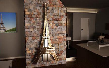 дизайнерский радиатор отопления в виде Эйфелевой башни