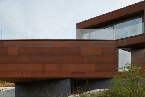 фасад современной виллы