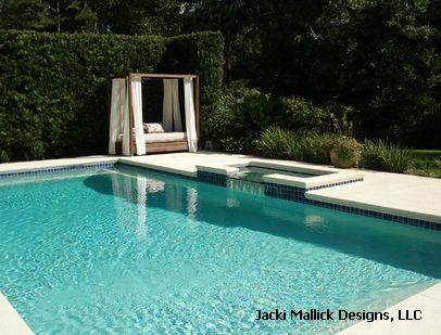 применение стеклоблоков в дизайне бассейна